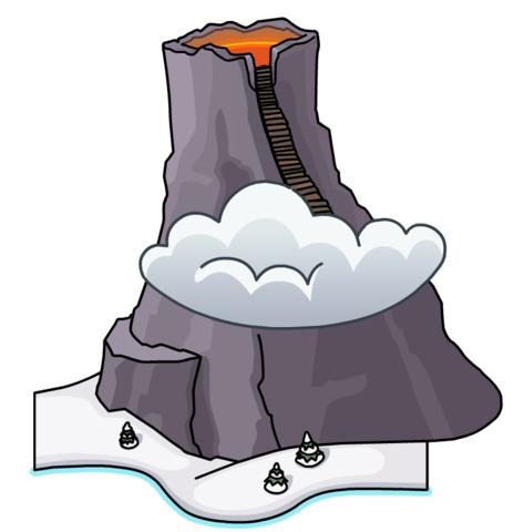 Volcán (Card-Jitsu Fuego)