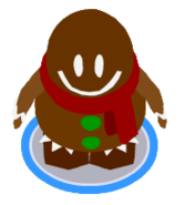 Gingerbread Costume ingame