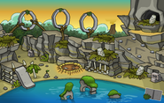 Prehistoric Party 2013 Ptero Town