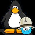 Safari Hat (Puffle Hat) on Player Card