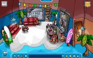 Summer coffee shop