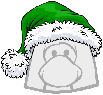 Gorro de Santa Claus Verde