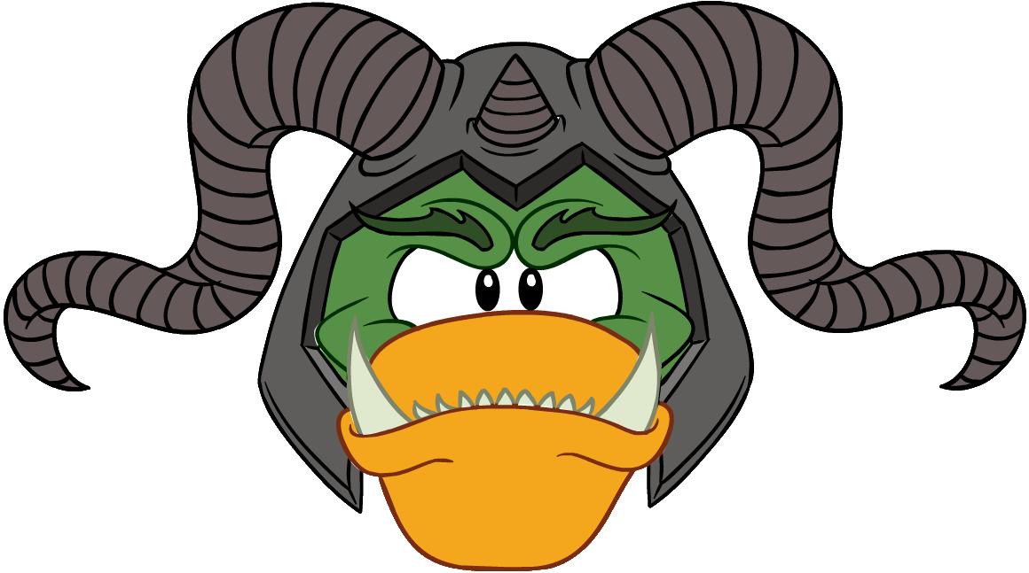 Cabeza de Ogro con Cuernos