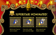 Awards Show Superstars Nominated Note