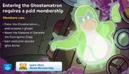 Ghost membership