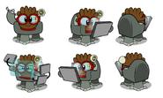 Brown Elite Puffle concept