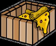 Mine Shack pizza plant box