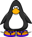 Purple Sandals from a Player Card