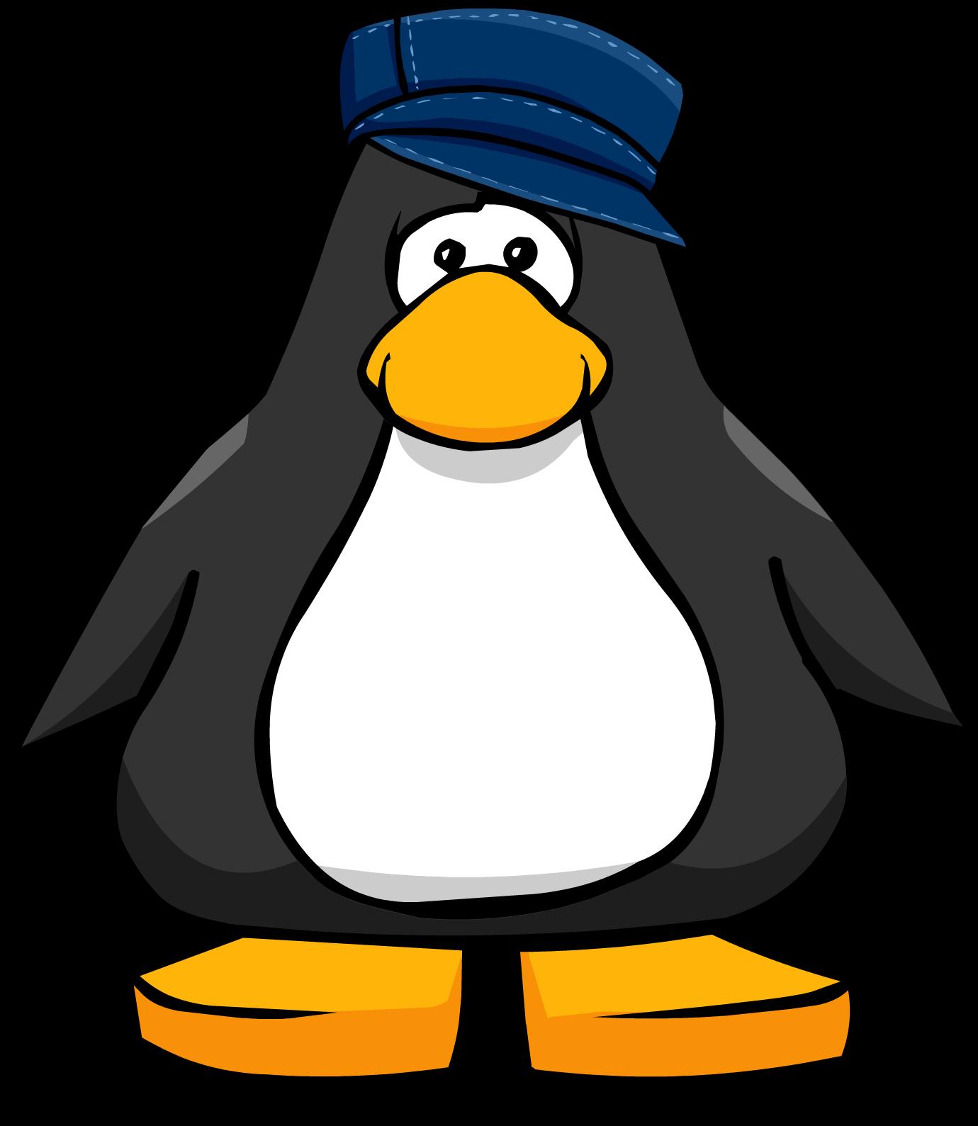 Denim Hip Hop Hat