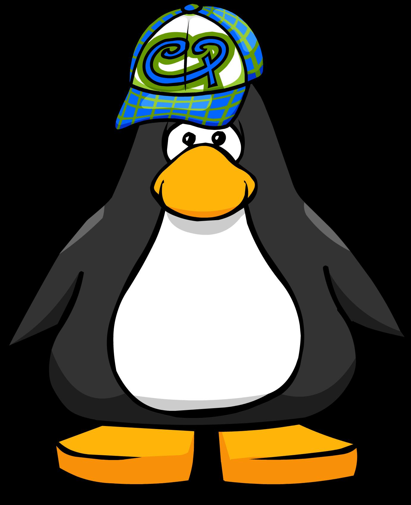 Aqua Hipster Hat