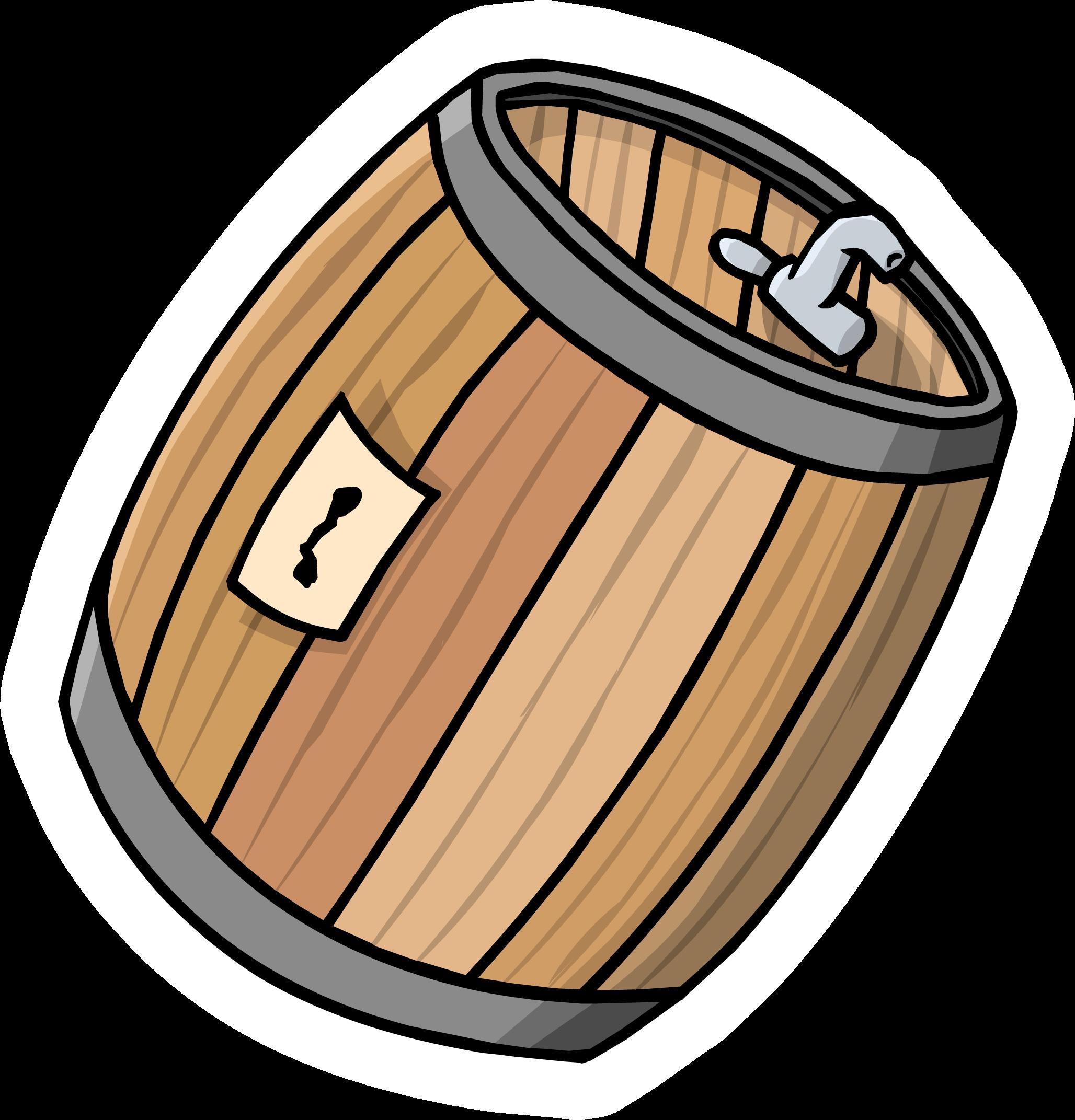 Cream Soda Barrel Pin