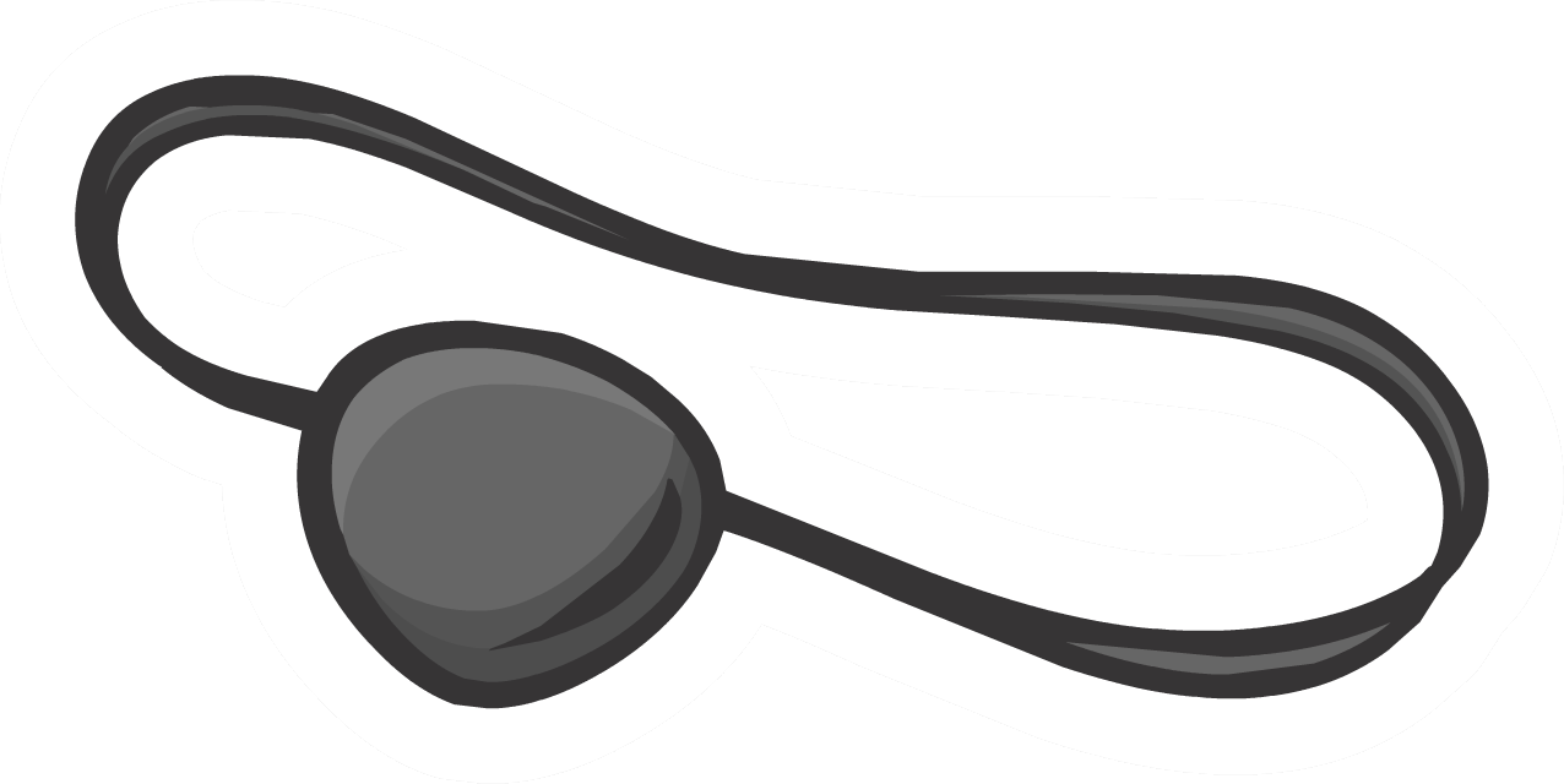 Eye Patch Pin