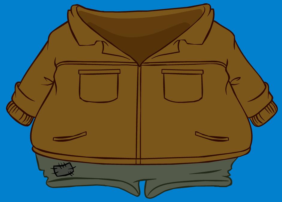 Abrigo de Cuero para el Aire Libre