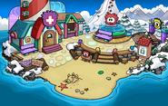 Puffle Party 2014 Beach
