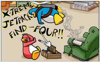 X-Treme Jetpack Find-Four (Comics)