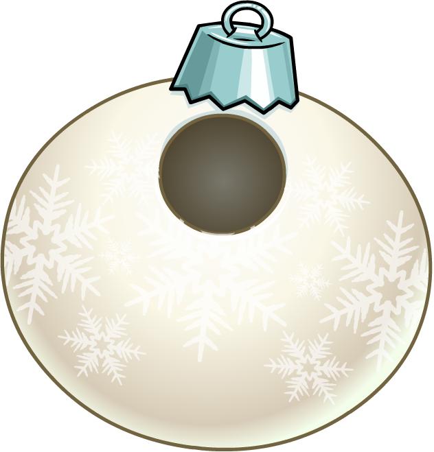 Bola Copo de Nieve Blanca