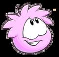 PinkPuffleApr2014PengStyleCatPose