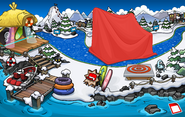 Club Penguin Island Party Dock