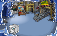 Puffle Party 2011 construction Mine