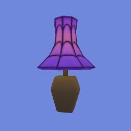 Lámpara sombreada
