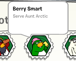 Berry Smart stamp