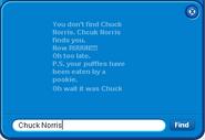 Friend List 2011 Chcuck Norris error
