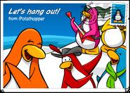 Local En Postcards 62 Let's Hang Out