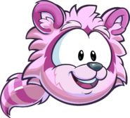 Pink Raccoon Puffle CP Times issue 485