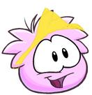 Pink Yoshi puffle