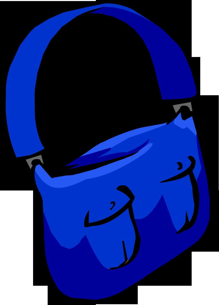 Bolso de Cartero Azul