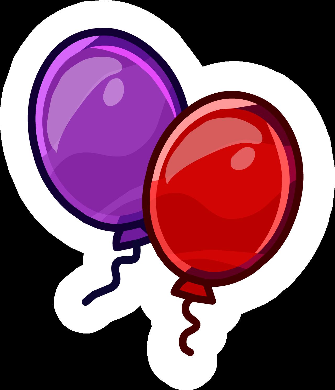 Anniversary Balloons Pin (ID 7204)