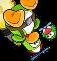 Adopt Green login screen