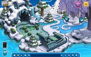Playa congelada Frozen