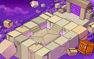 Puffle Party 2011 construction Box Dimension