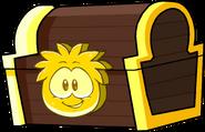 GoldPuffleTreasureChestPuffleChaseOperationPuffle