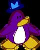 Doodle Dimension penguin Purple hat