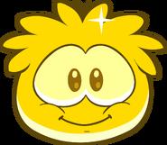 Gold Puffle in game walk