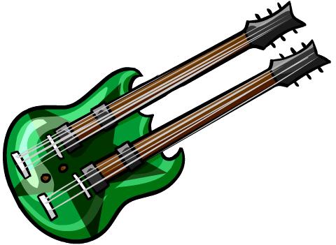Guitarra de Doble Mango