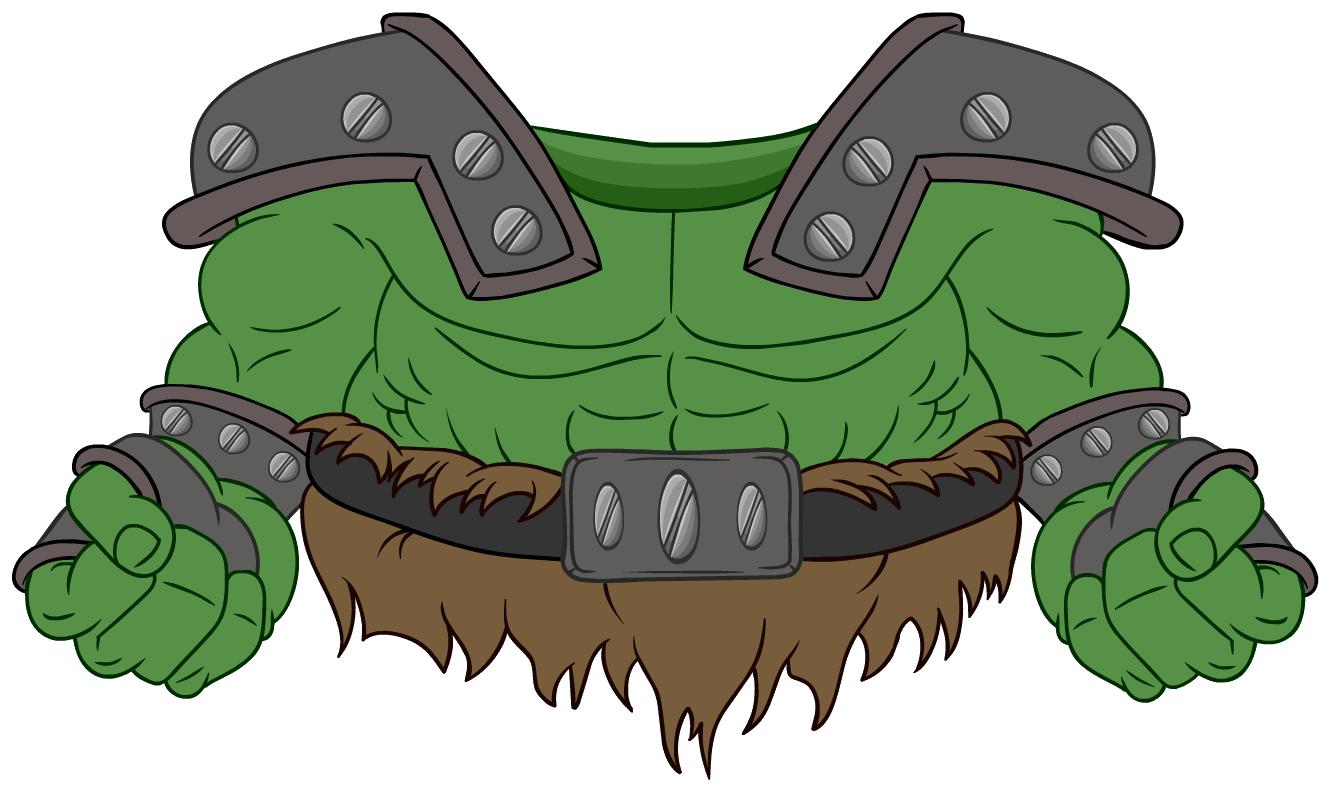 Disfraz de Ogro con Armadura
