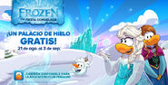 Pantalla de inicio Frozen