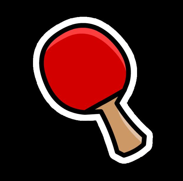 Pin de Raqueta de Ping-Pong
