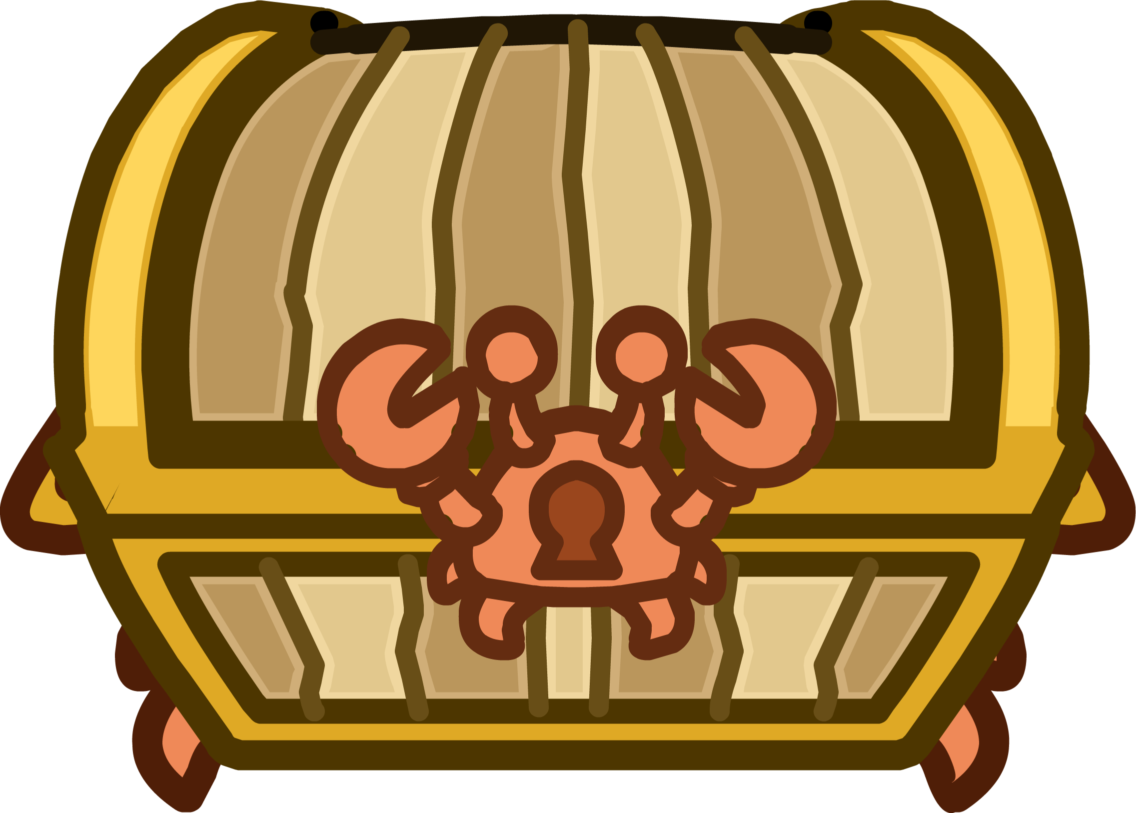 Crab Treasure Chest