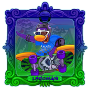 SB Frame Legend LEGOMAN