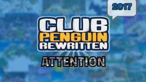 ♪ Club Penguin Rewritten - Attention (2017) ♪