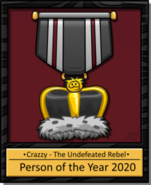 Crazzy2020plaque