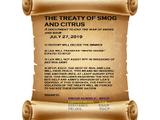 Treaty of Smog and Citrus