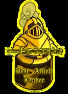 Templars Award Best Allied Leader LEGOMAN FULLY ENDORSED