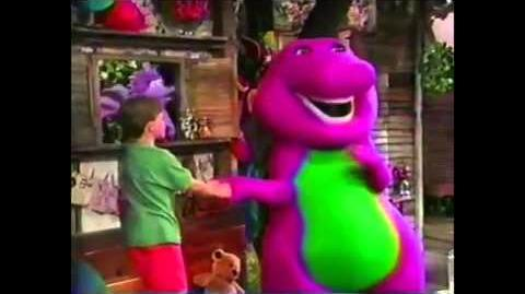 Barney With Bad Words All F*cked Up