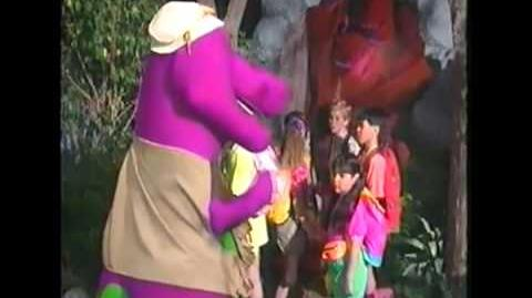 Barney with Bad Words Don't F*** the Bear