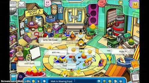 Adopting a pookie on club penguin!